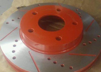 Coated Rotor