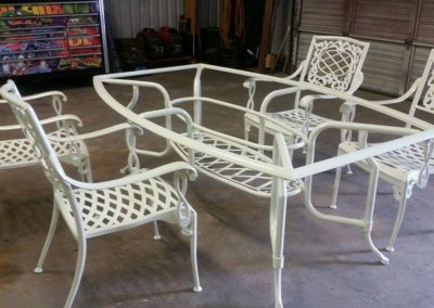 White Lawn Furniture